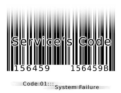 Service's Code Manga WebComic : Code 001 System Failure